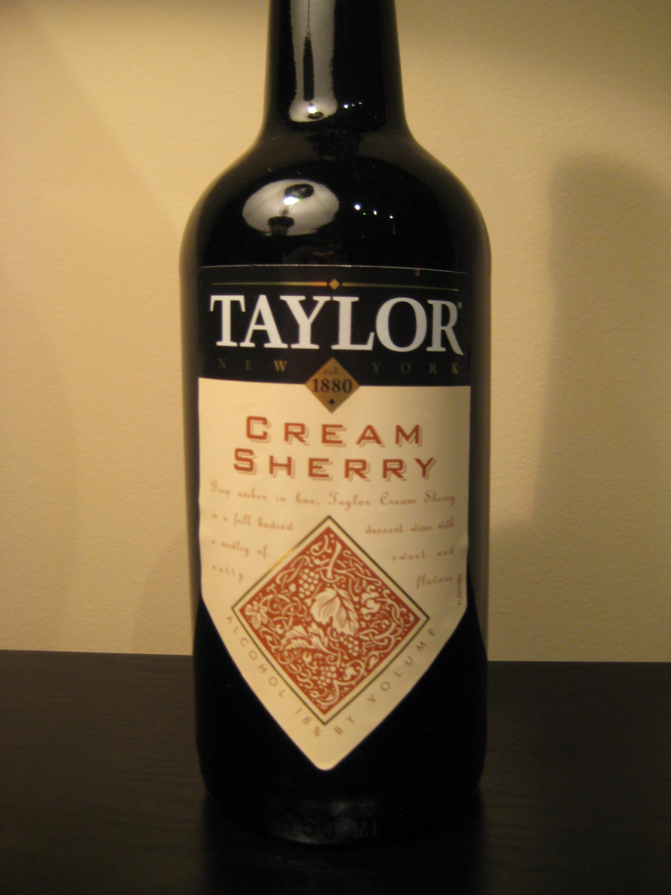 Taylor Cream Sh... Red Wine Grapes