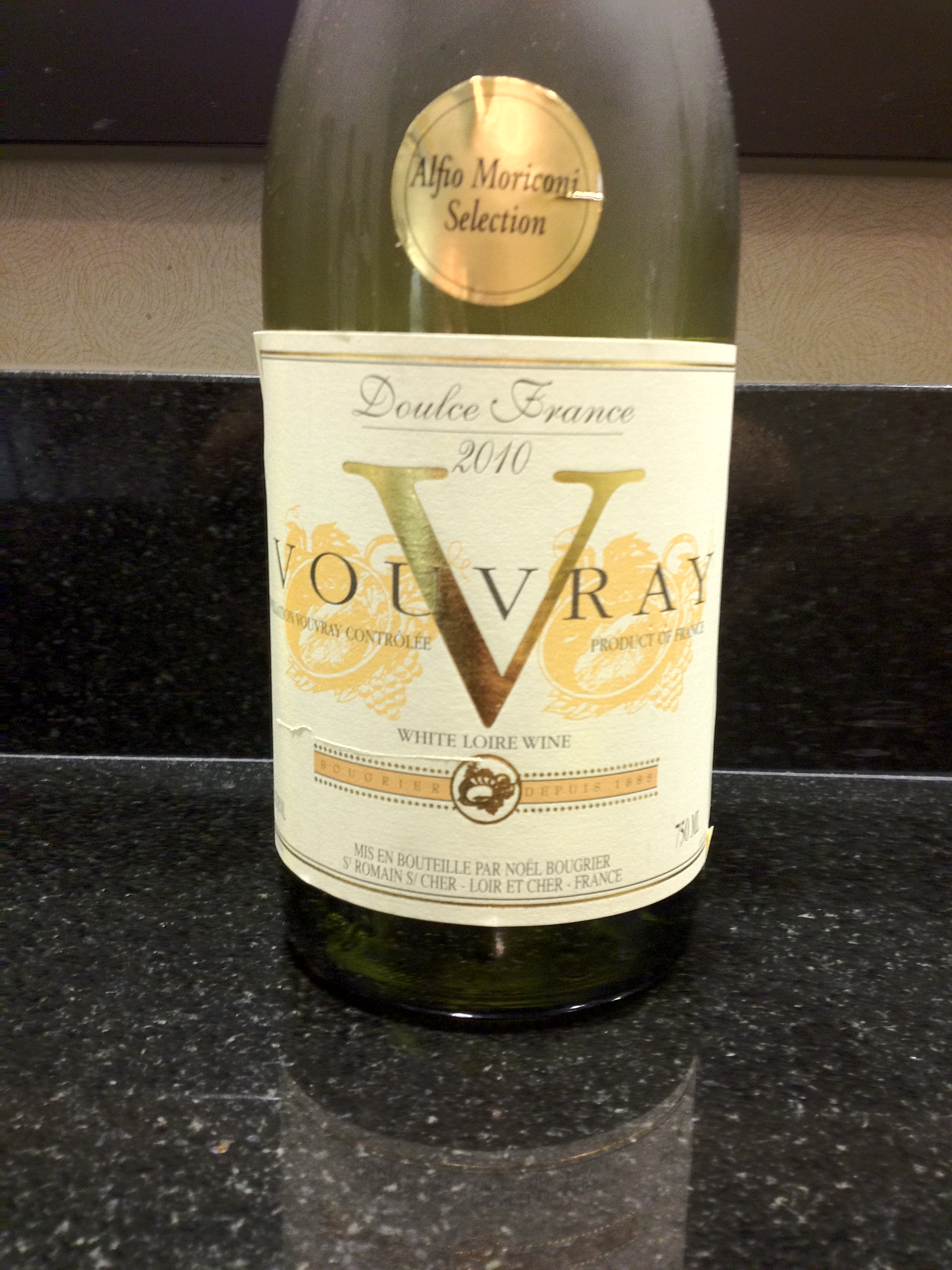 Bougrier V Vouvray Bottle