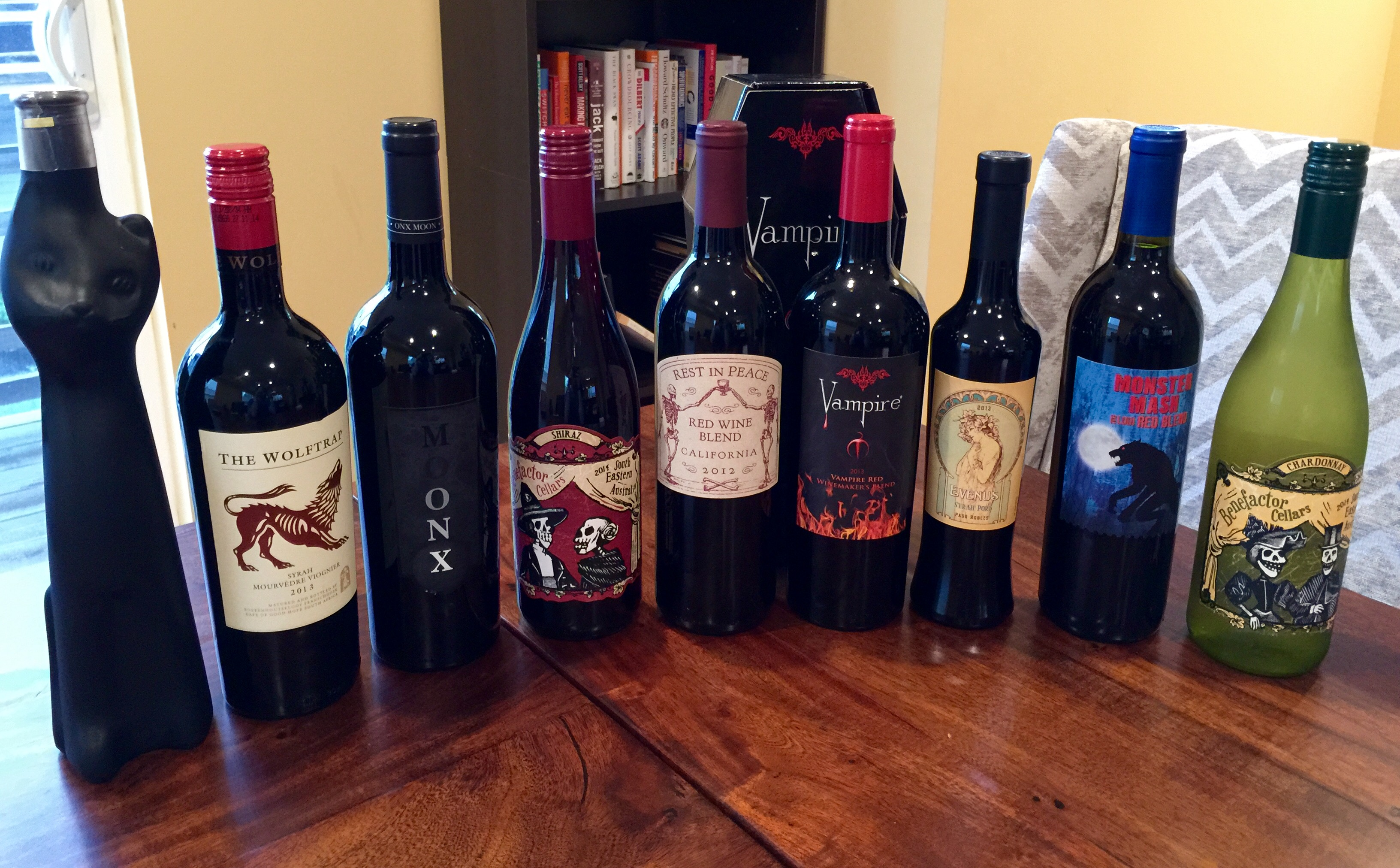 Best Wines For Halloween 2015