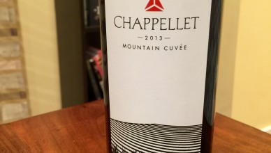 Chappellet Mountain Cuvee 2013
