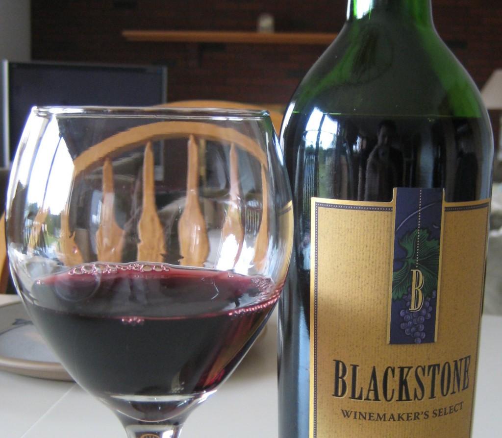 First vintage of blackstone merlot