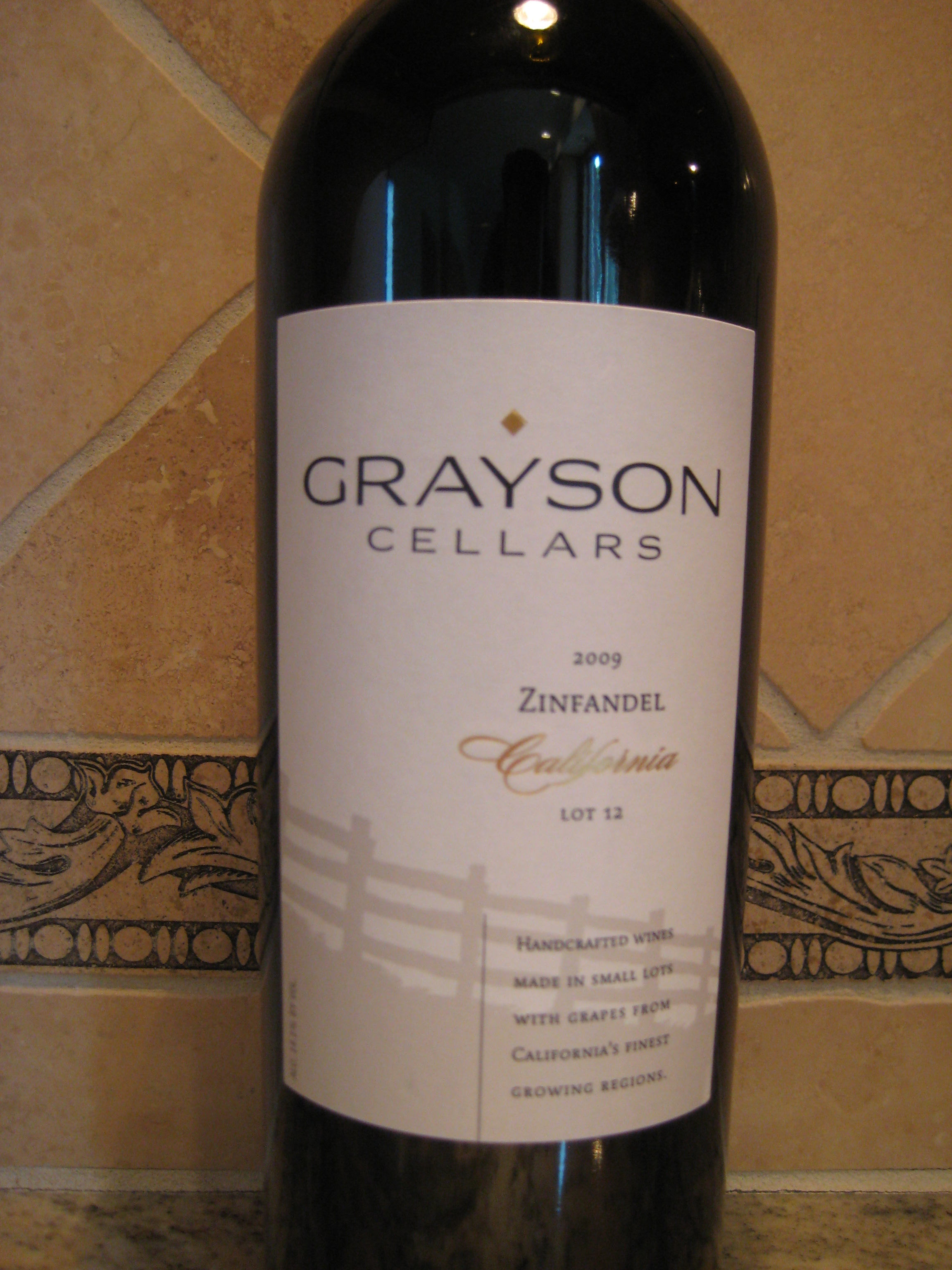 2009 Grayson Cellars Lot 12 is a California Zinfandel and not one of the blushy ones that are oh-so common in summer. While Californiau0027s Zinfandel is ... & 2009 Grayson Cellars Zinfandel Lot 12 - First Pour Wine
