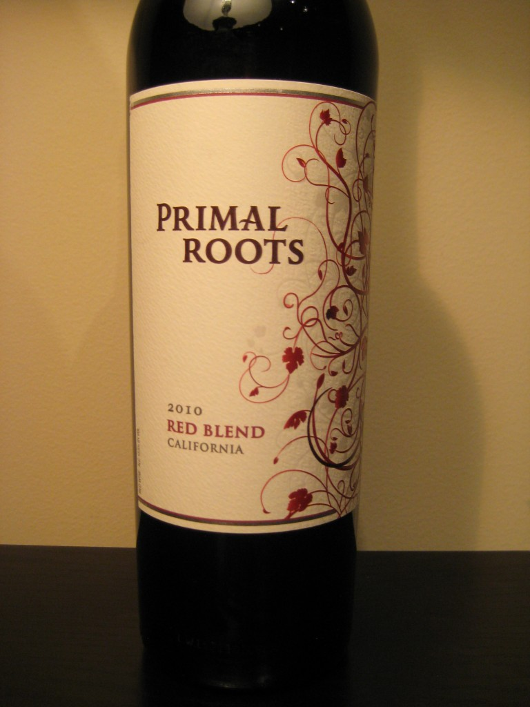 2010 Primal Roots Red Blend