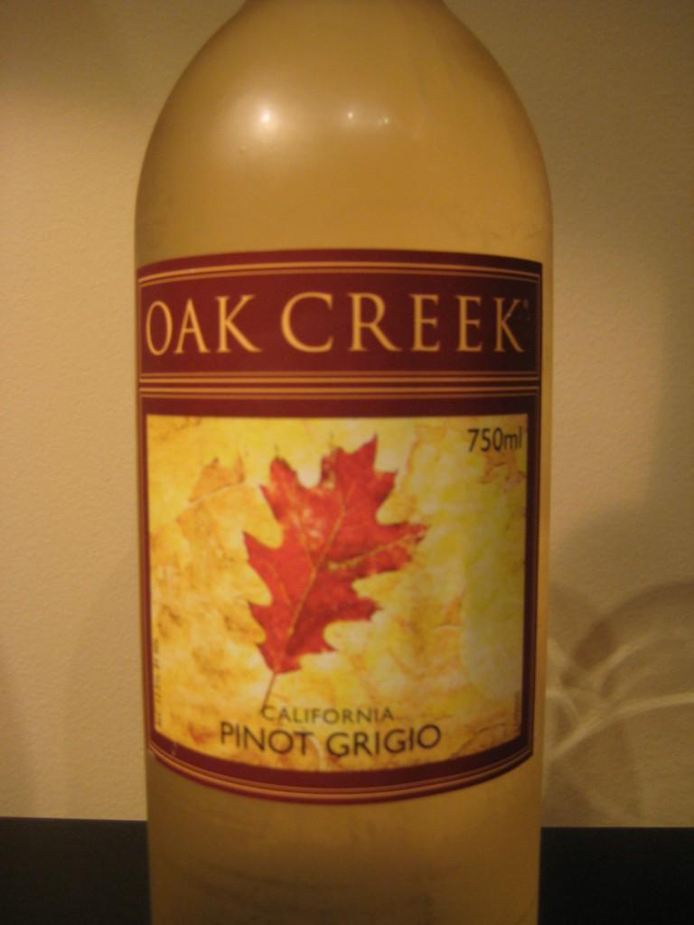 Oak Creek Pinot Grigio