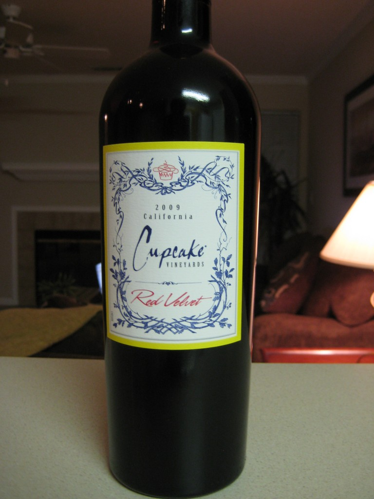 2009 Cupcake Vineyards Red Velvet - First Pour Wine