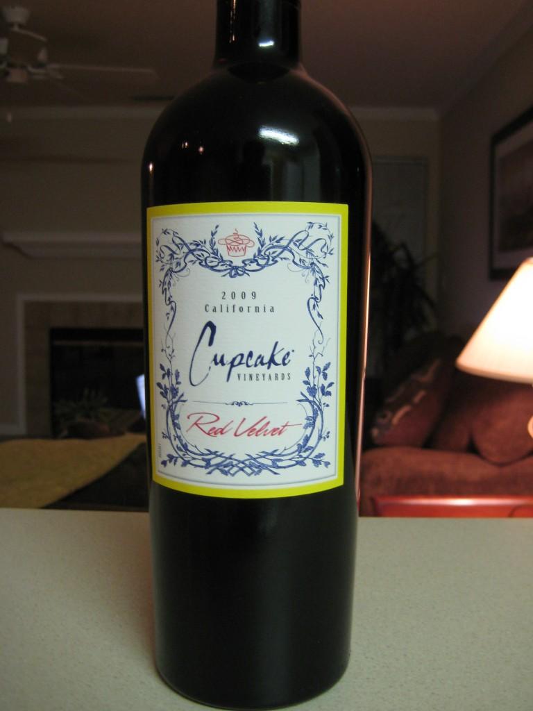 Cake Red Velvet Wine : 2009 Cupcake Vineyards Red Velvet - First Pour Wine