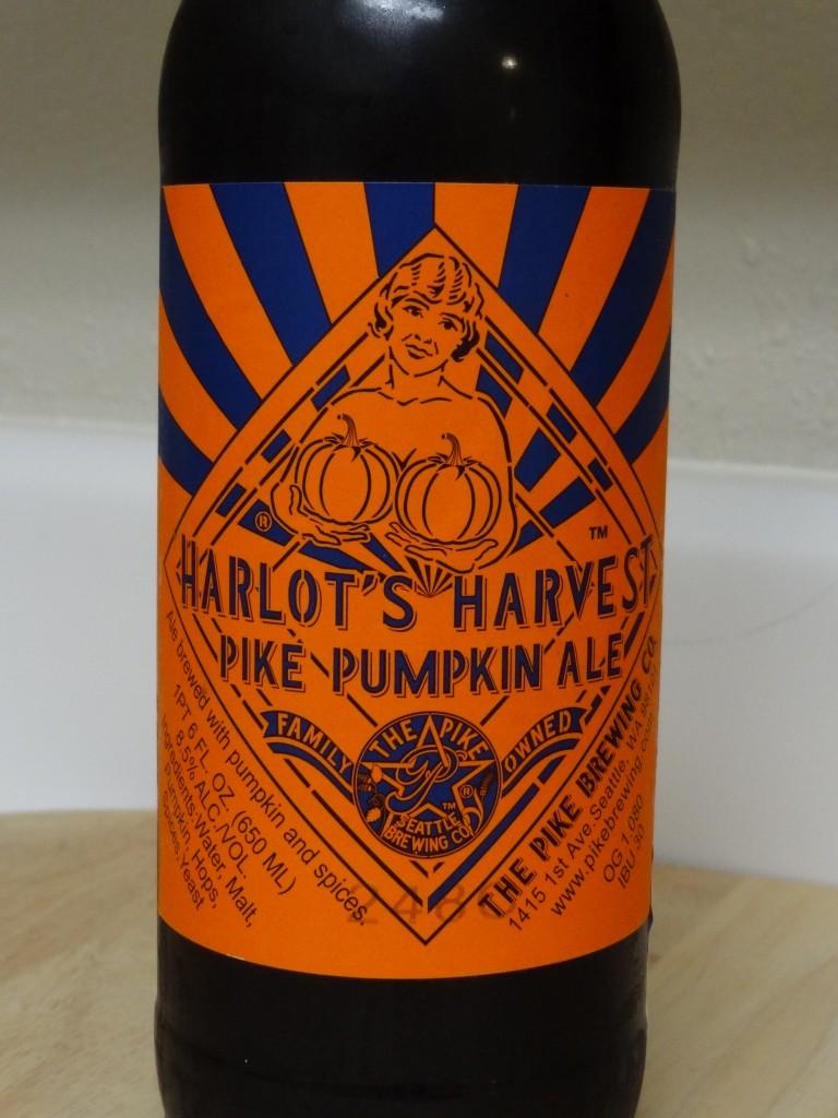 Harlot's Harvest Pike Pumpkin Ale