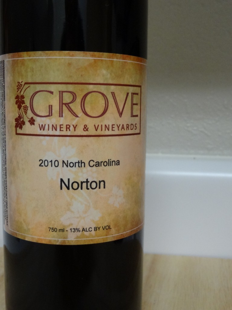 2010 Grove Winery Norton