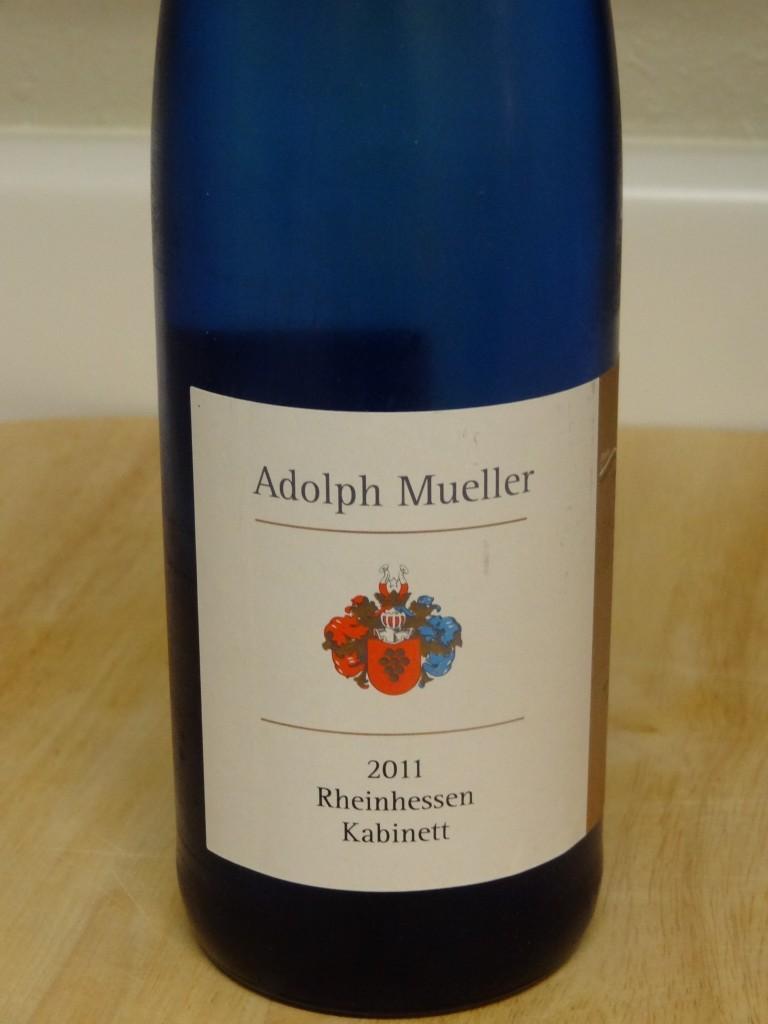 2011 Adolph Mueller Rheinhessen Kabinett