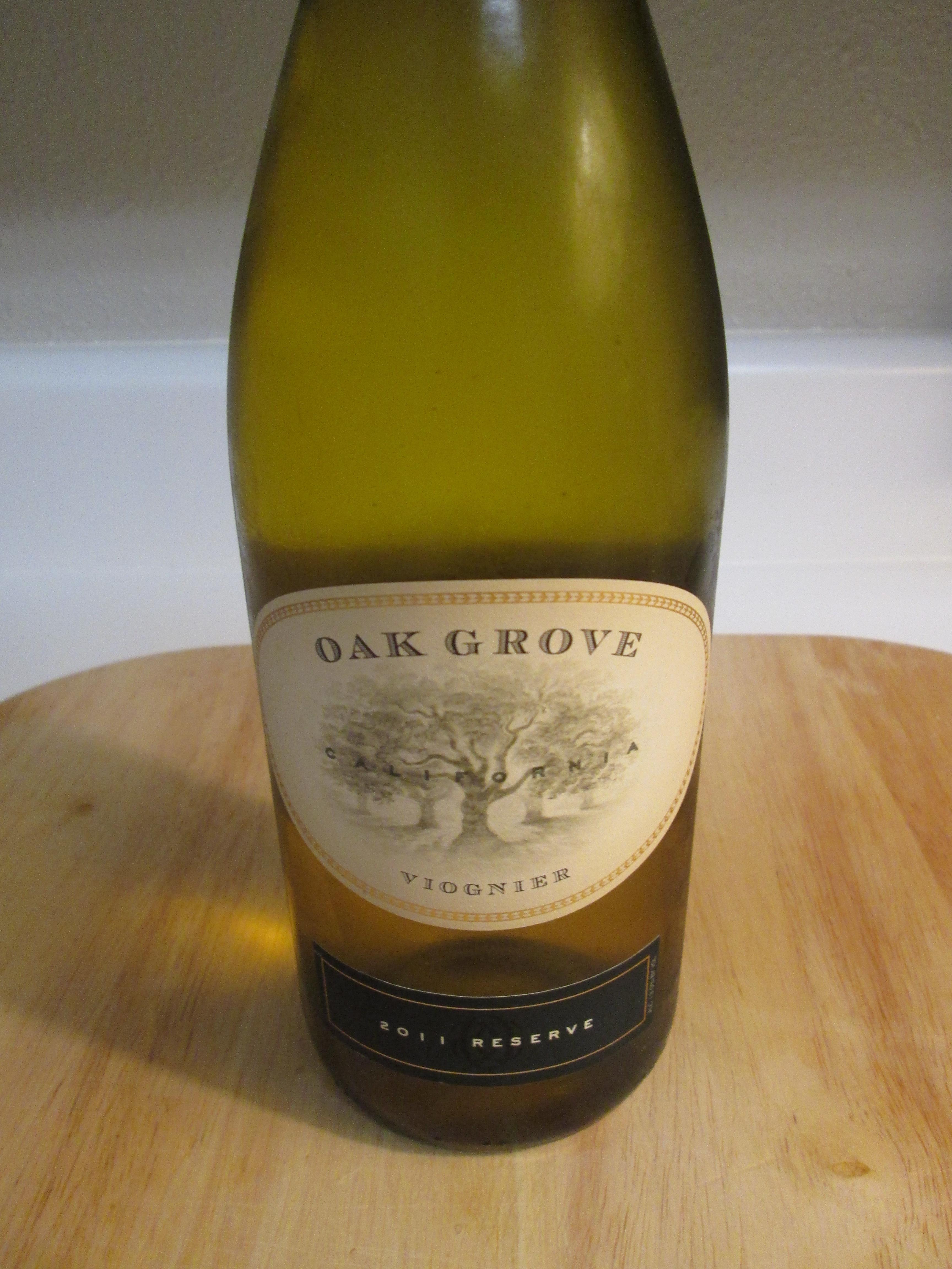 2011 Oak Grove Reserve Viognier