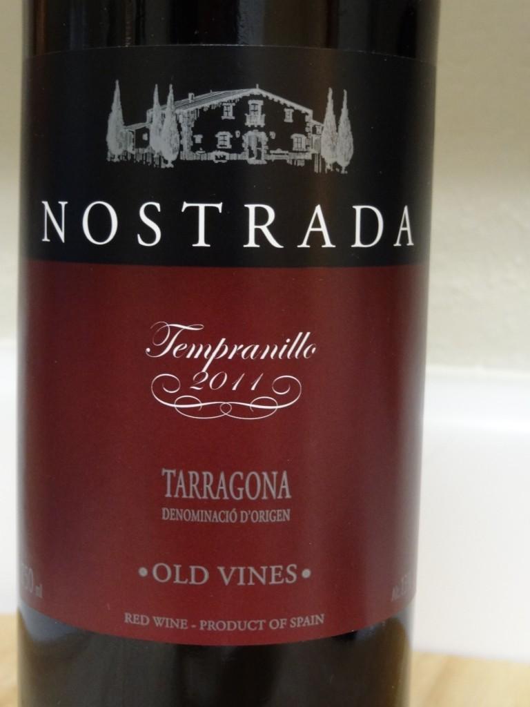 2011 Nostrada Tempranillo