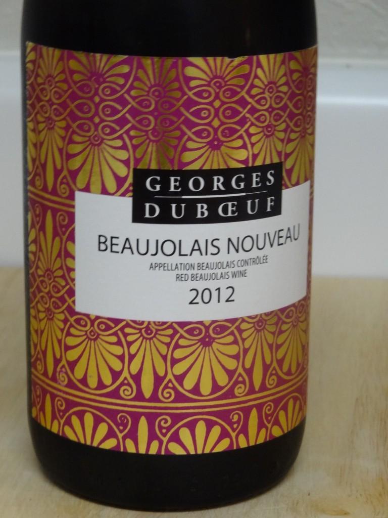 2012 Georges Duboeuf Beaujolais Nouveau