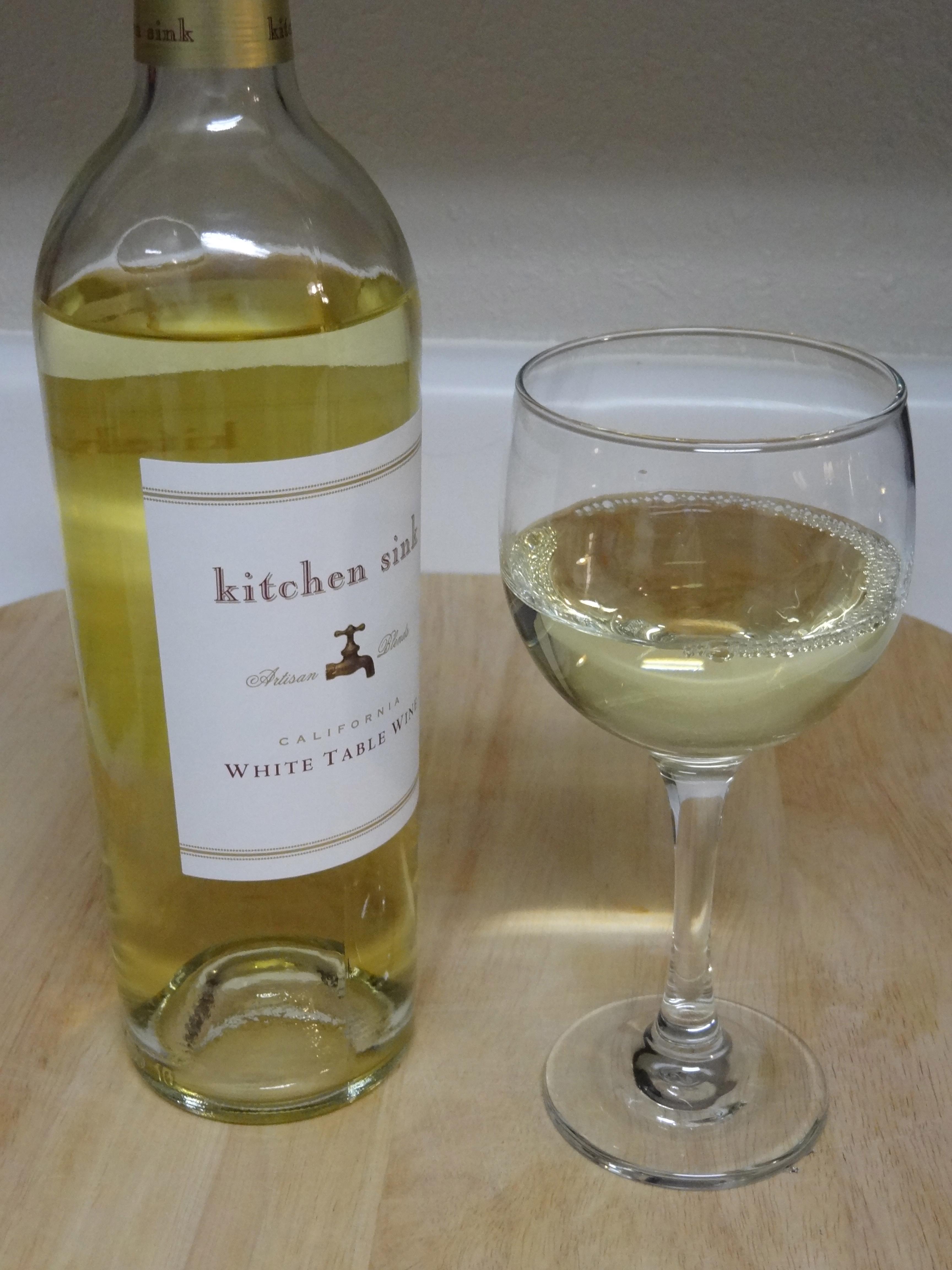 Kitchen Sink White First Pour Wine