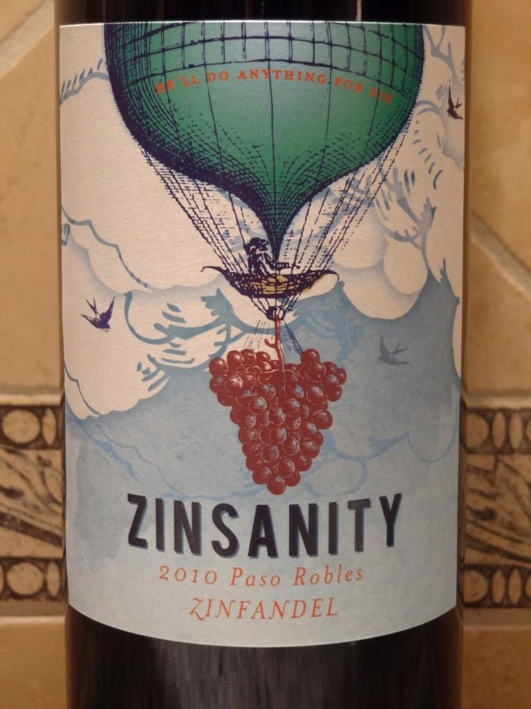 2010 Zinsanity Zinfandel