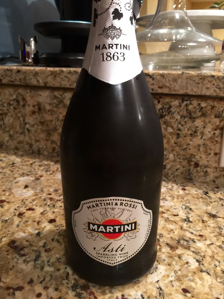 how to drink martini asti