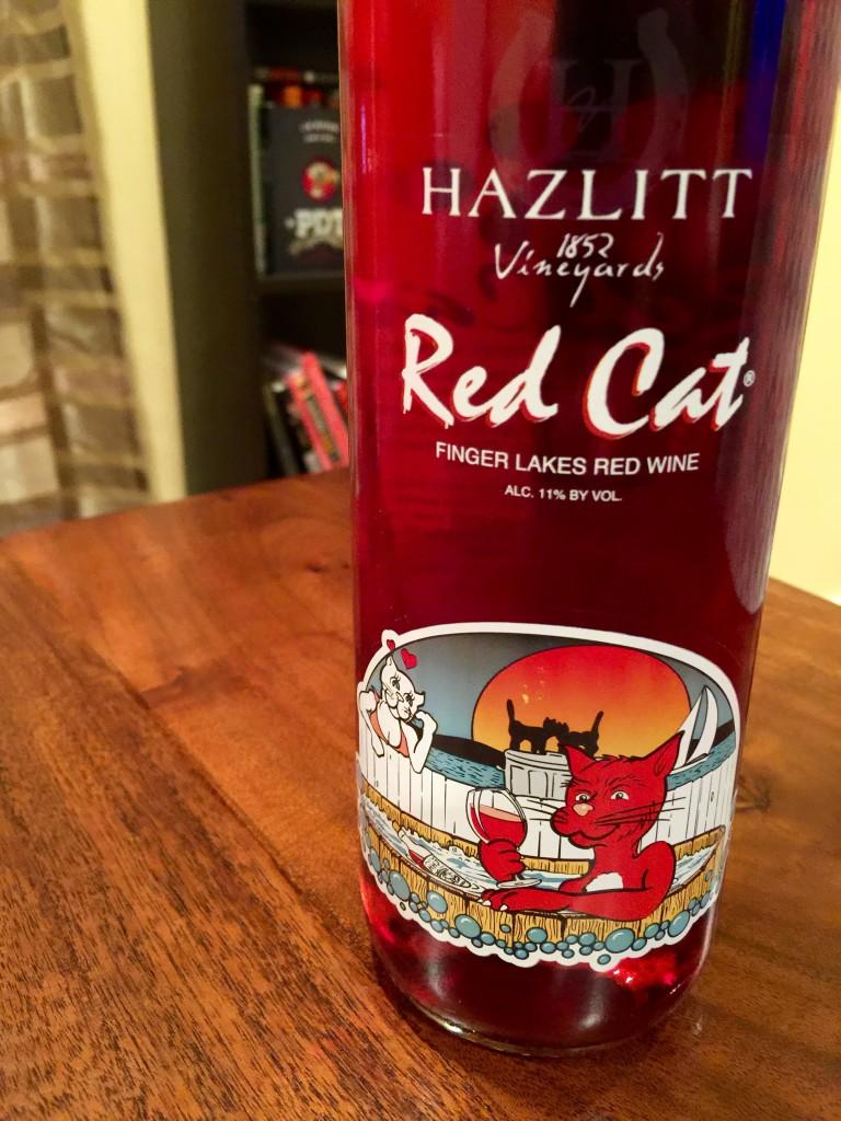 Hazlitt Red Cat
