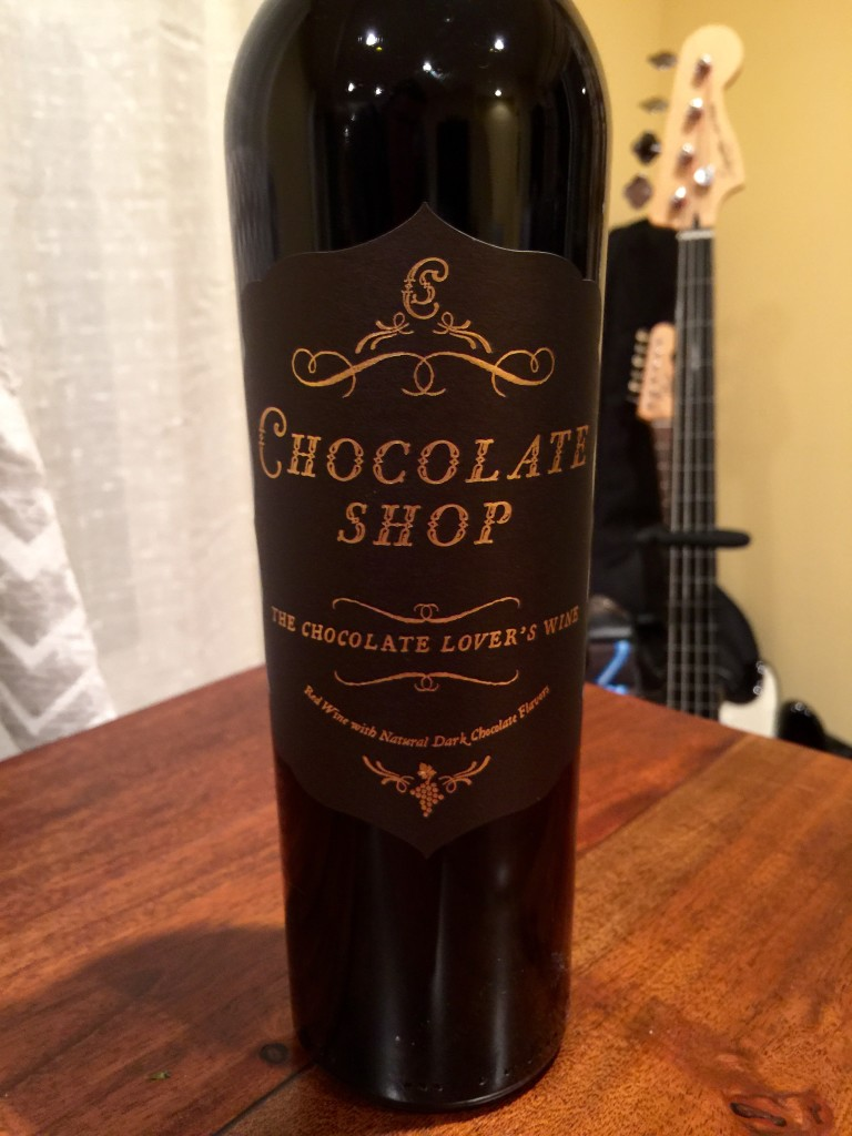 Chocolate Shop - First Pour Wine