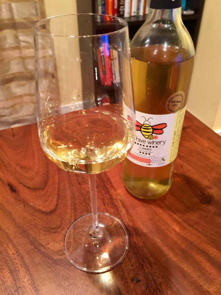 The Hive Winery Summer Mead Pour